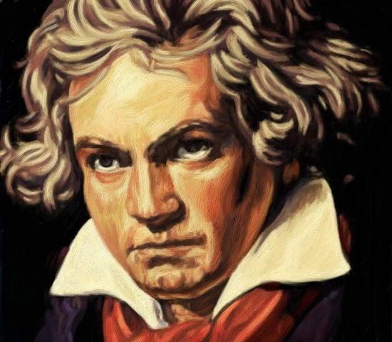 Ludwig van Beethoven by volkov
